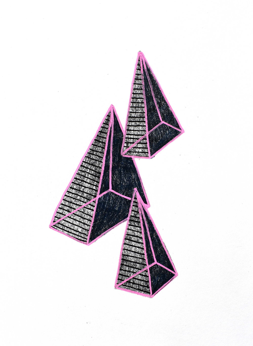 Dark Pyramids