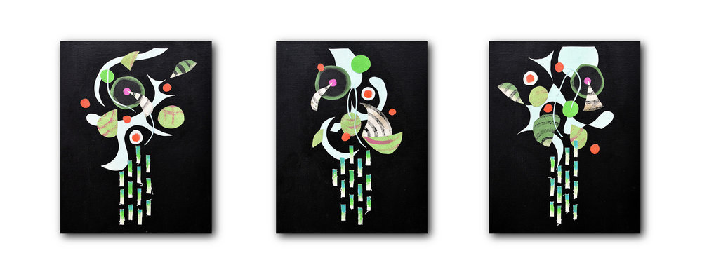 Cloud Mother Triptych