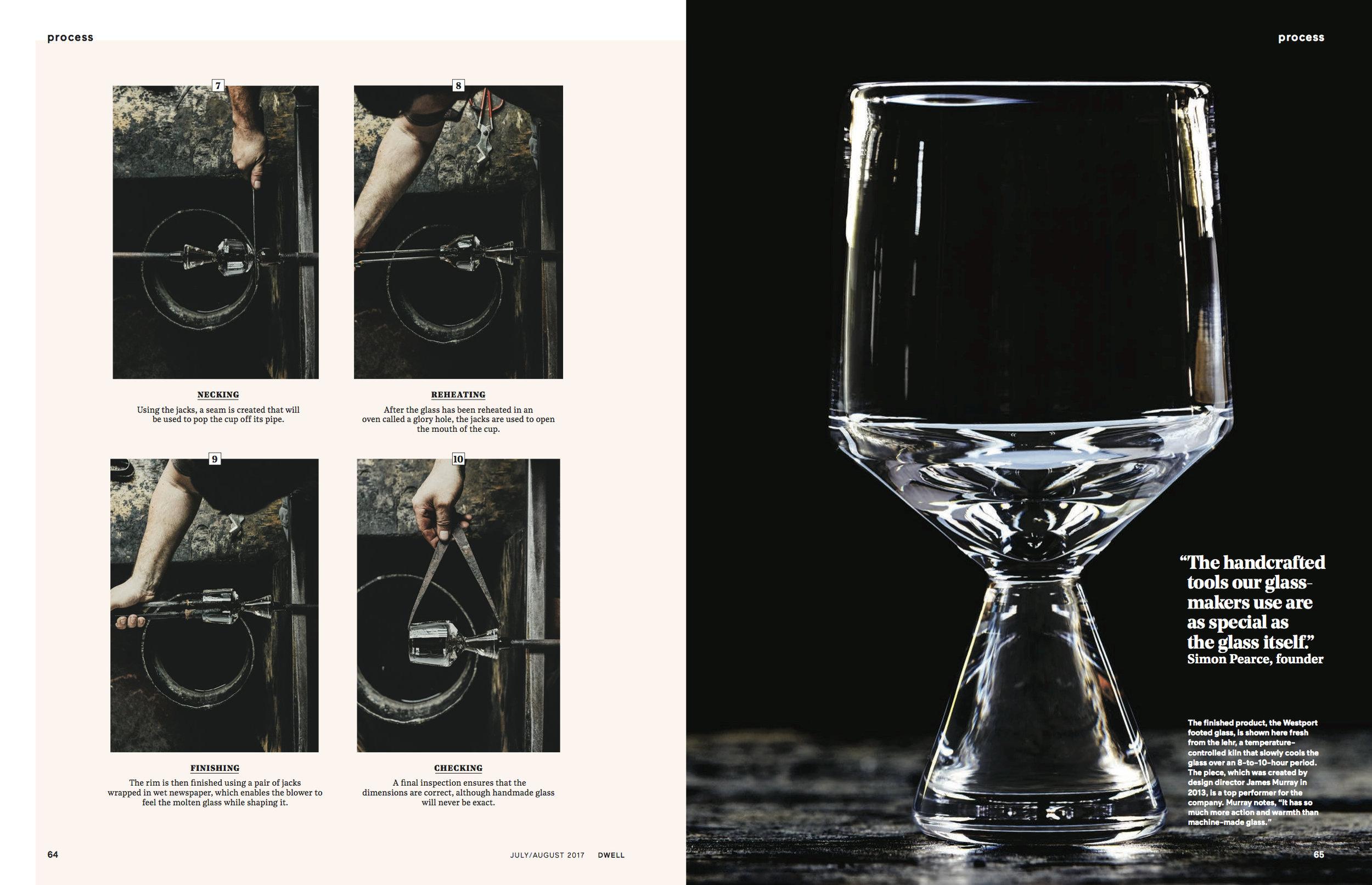 d2d35d3ac80f46 Dwell Feature of the Westport Glass
