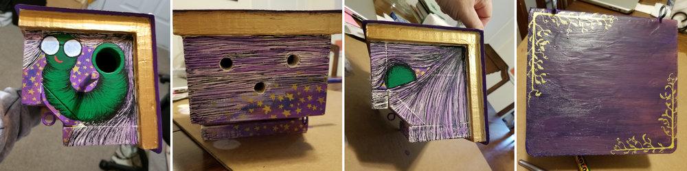 Bookworm Birdhouse