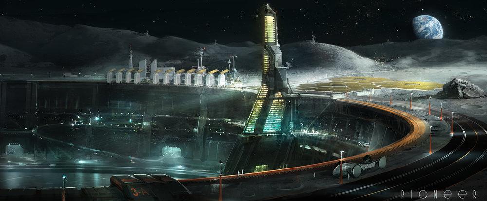 Experimental Research Moon Complex , by Rahmatozz