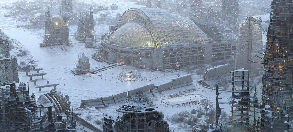 Future Toronto Winter Edition , by Mathew Borrett