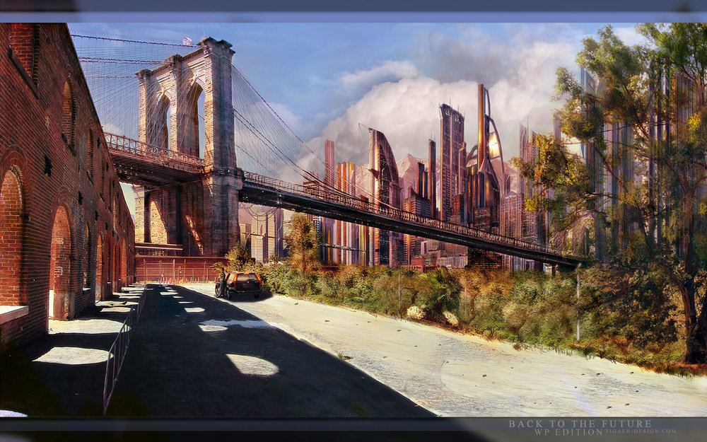 BACK TO THE FUTURE , by tigaer