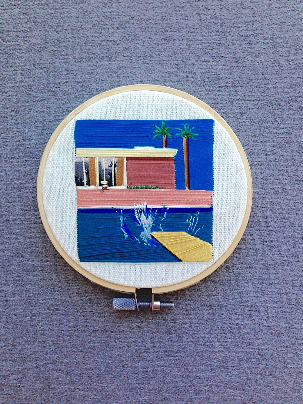 David Hockney, A Bigger Splash, 1967