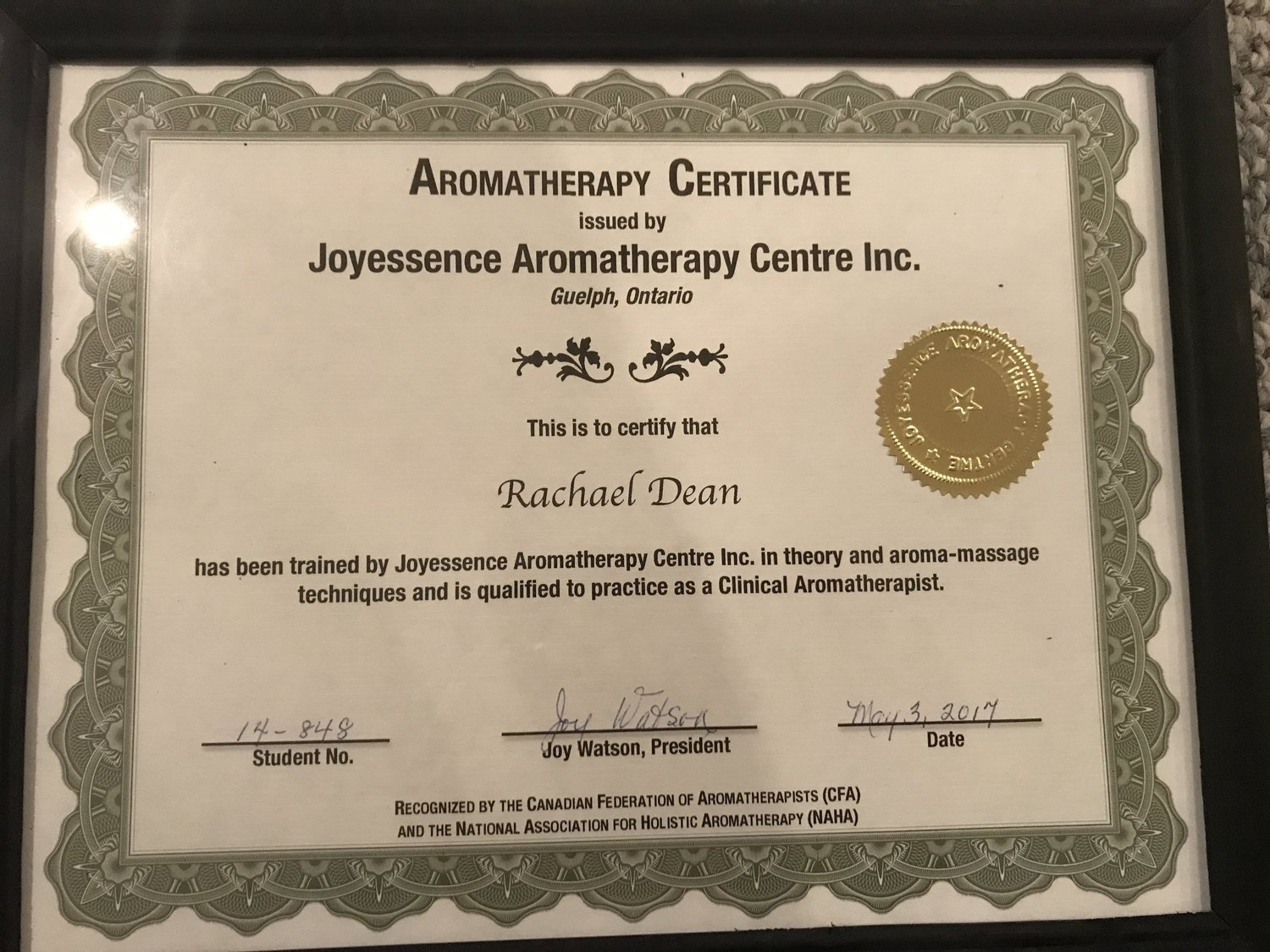 I Am A Certified Aromatherapy Health Professional Happy Oils