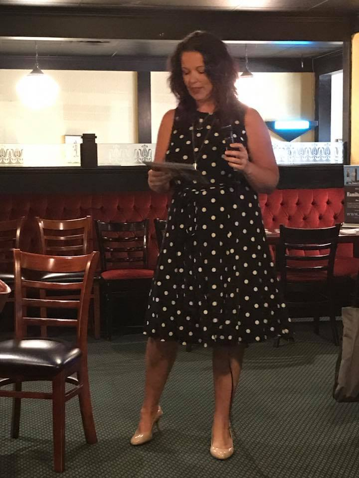 Rachael Dean speaking at corporate events