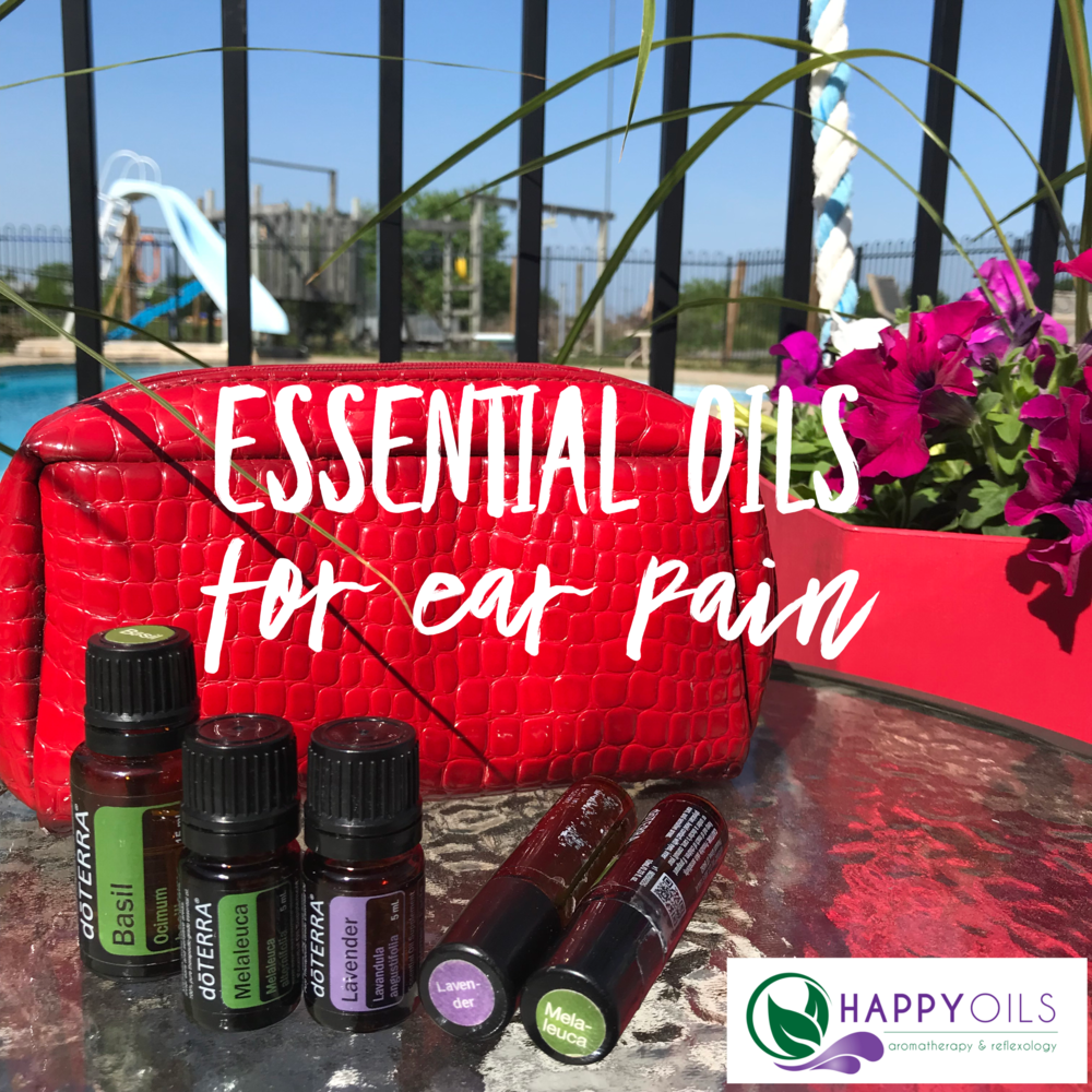 happy oils essential oils for ear pain