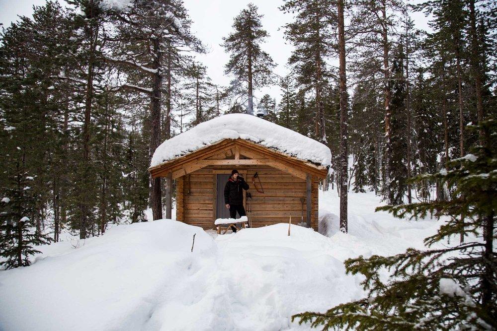 cabin  - elias pfuner