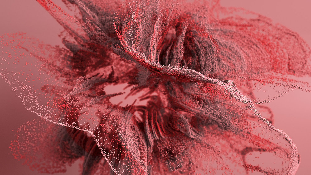 Particles scatter octane - Elias Thaddäus Pfuner