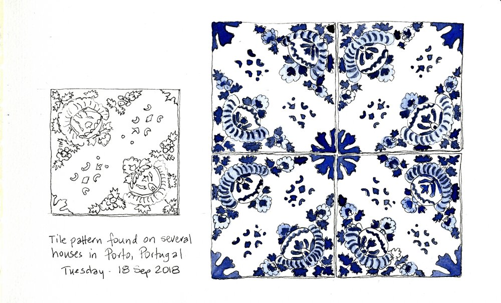 Blue and white diagonal tile painted bandw 1200dpi.jpg