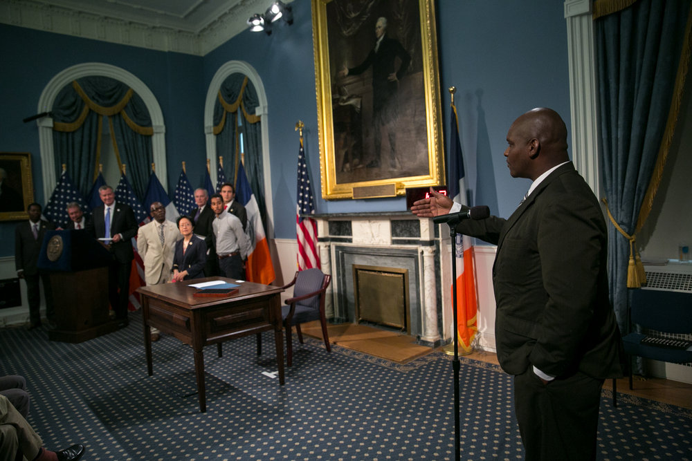 Five Mualimm-ak of NYC Behavioral Health Task Force address NYC Mayor Bill Deblasio