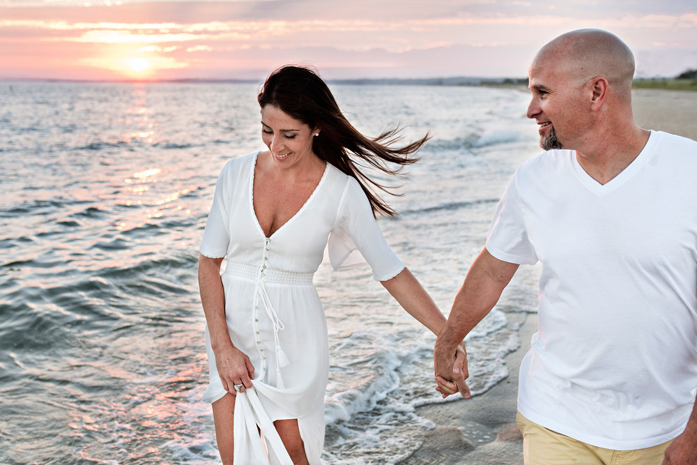 ct beach elopment photography. connecticut wedding photographer