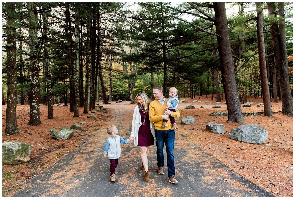 fairfield county, ct family photographer in the Fall