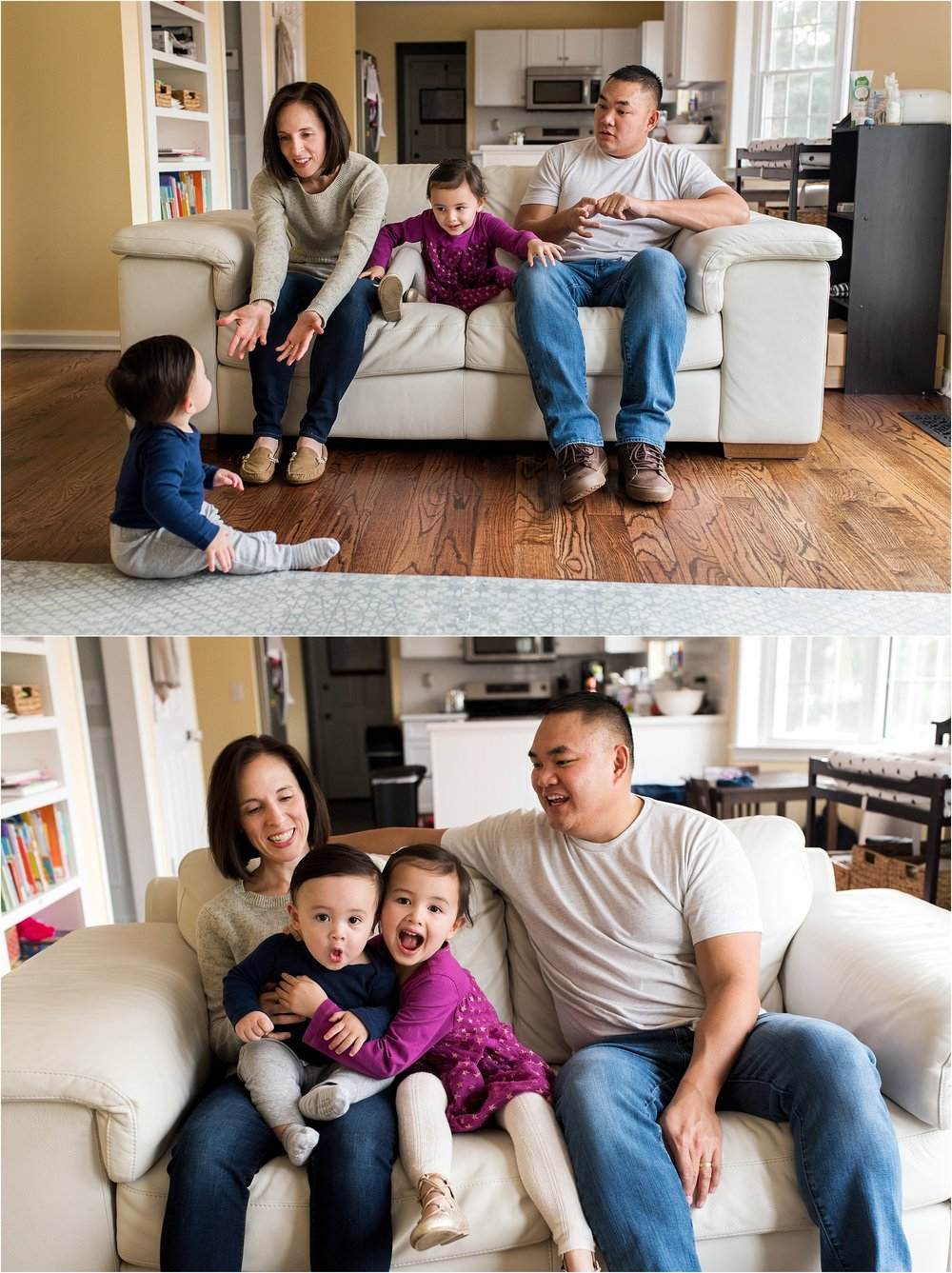 in home lifestyle family photography ct