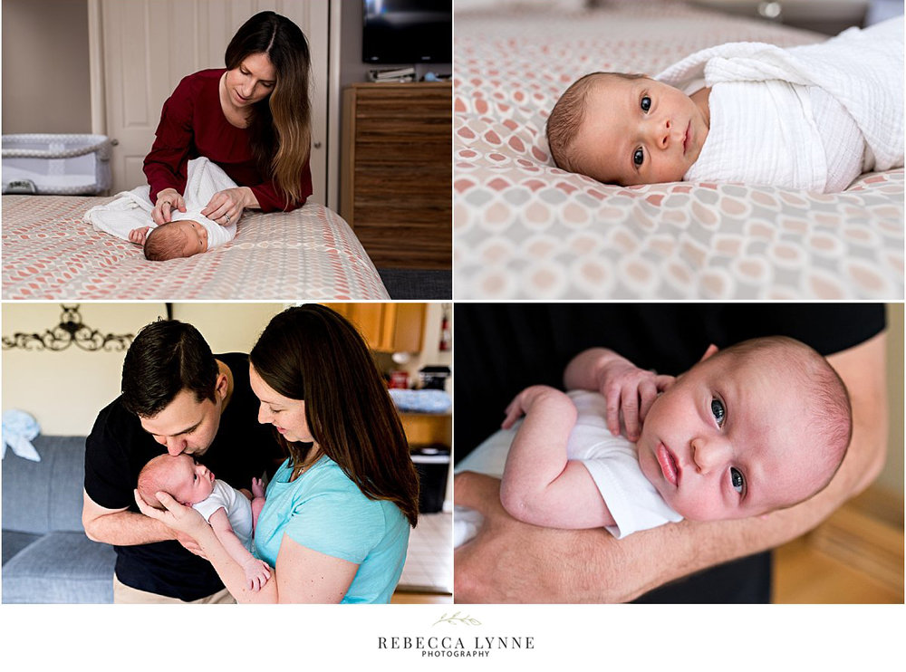 candid lifestyle newborn photography CT