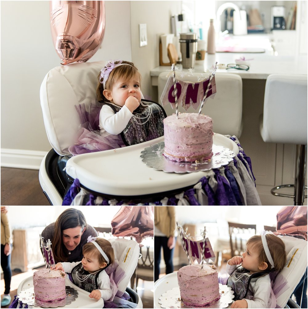 infant photographer ct. baby cake smash photography connecticut