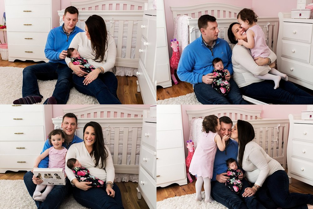 in home newborn photography. new haven county newborn photography