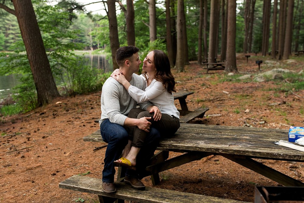 ct wedding anniversary photography in the woods