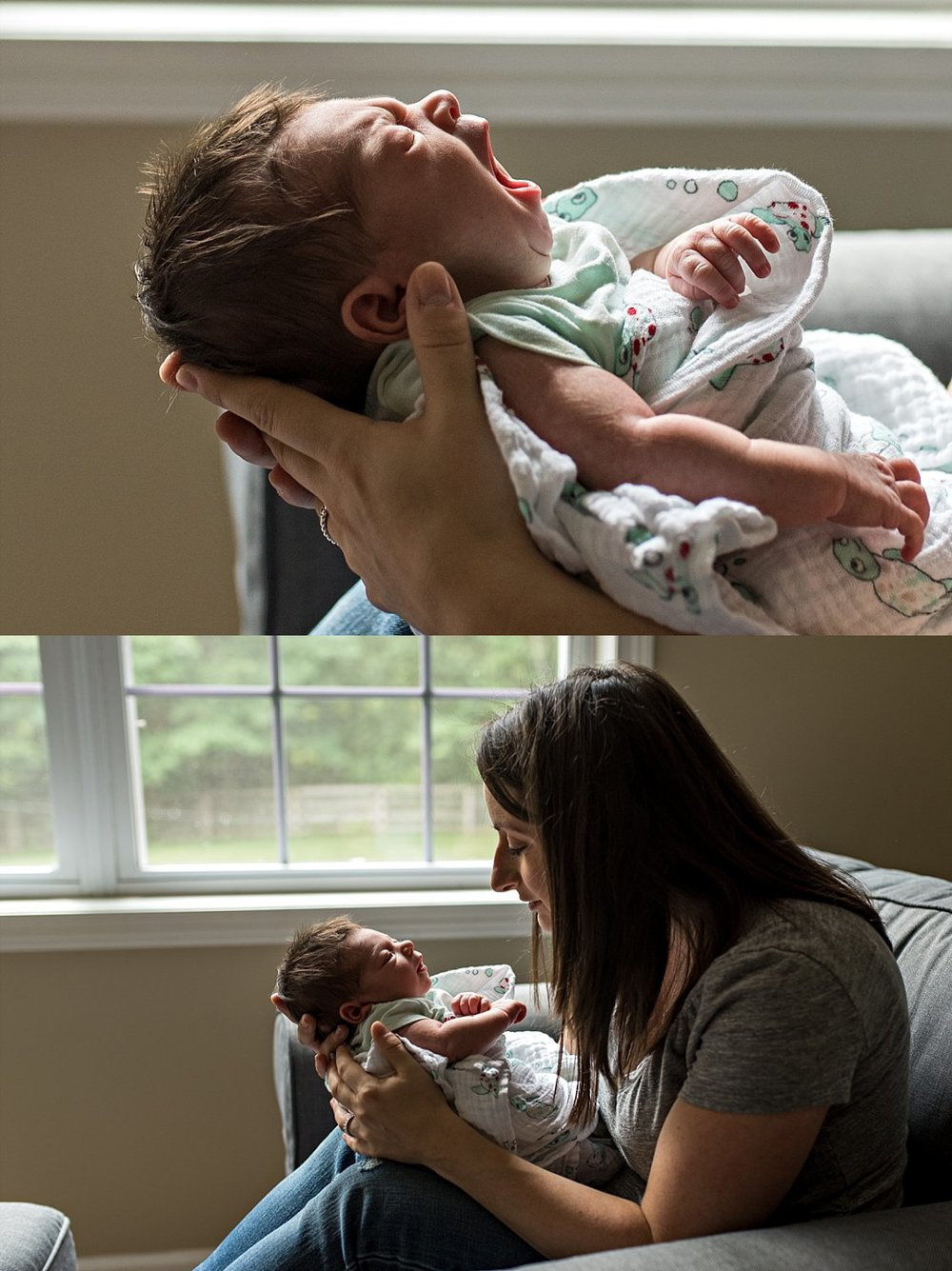lifestyle newborn photographer in south windsor, connecticut