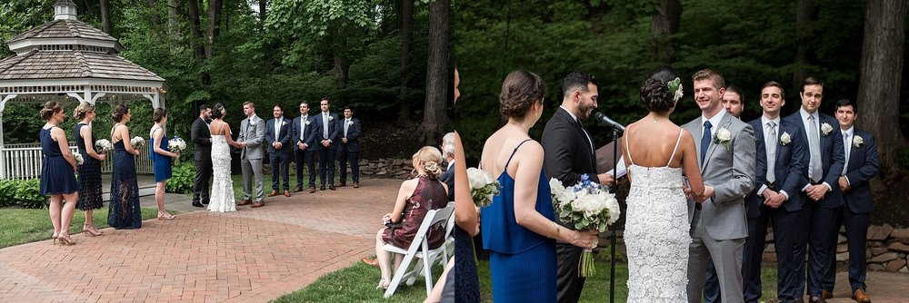 avon old farms wedding ceremony