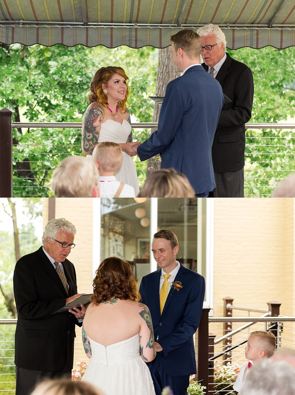 small wedding ceremony photography connecticut