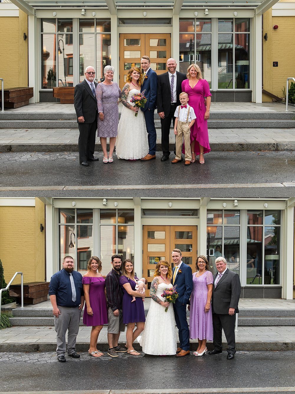 casual and fun wedding photographer connecticut