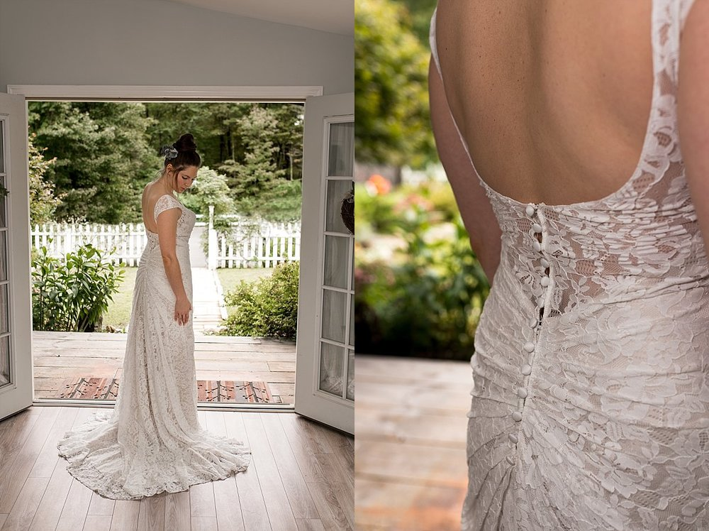 connecticut bridal gown details. ct wedding photographer