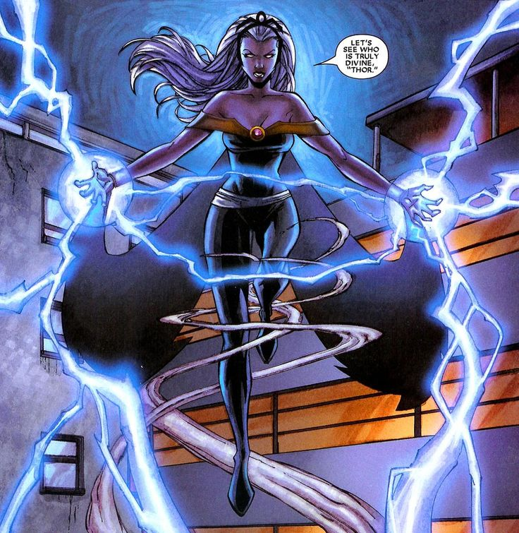 Storm - Reclaiming her electrons