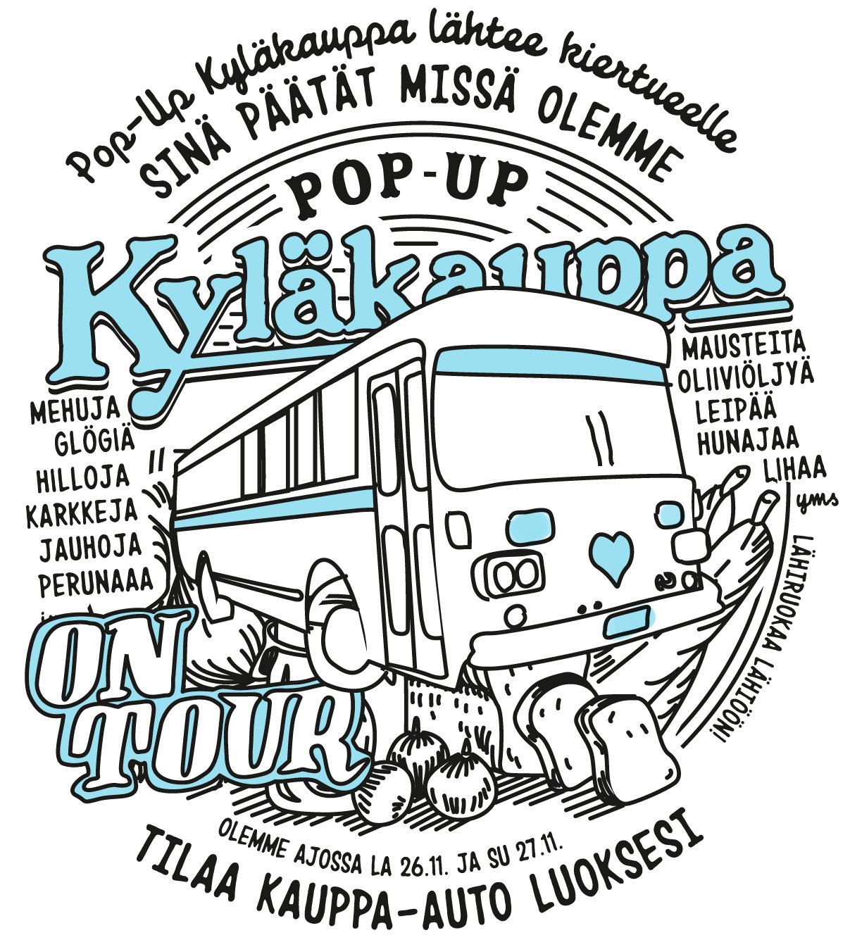 Kyläkauppa on tour