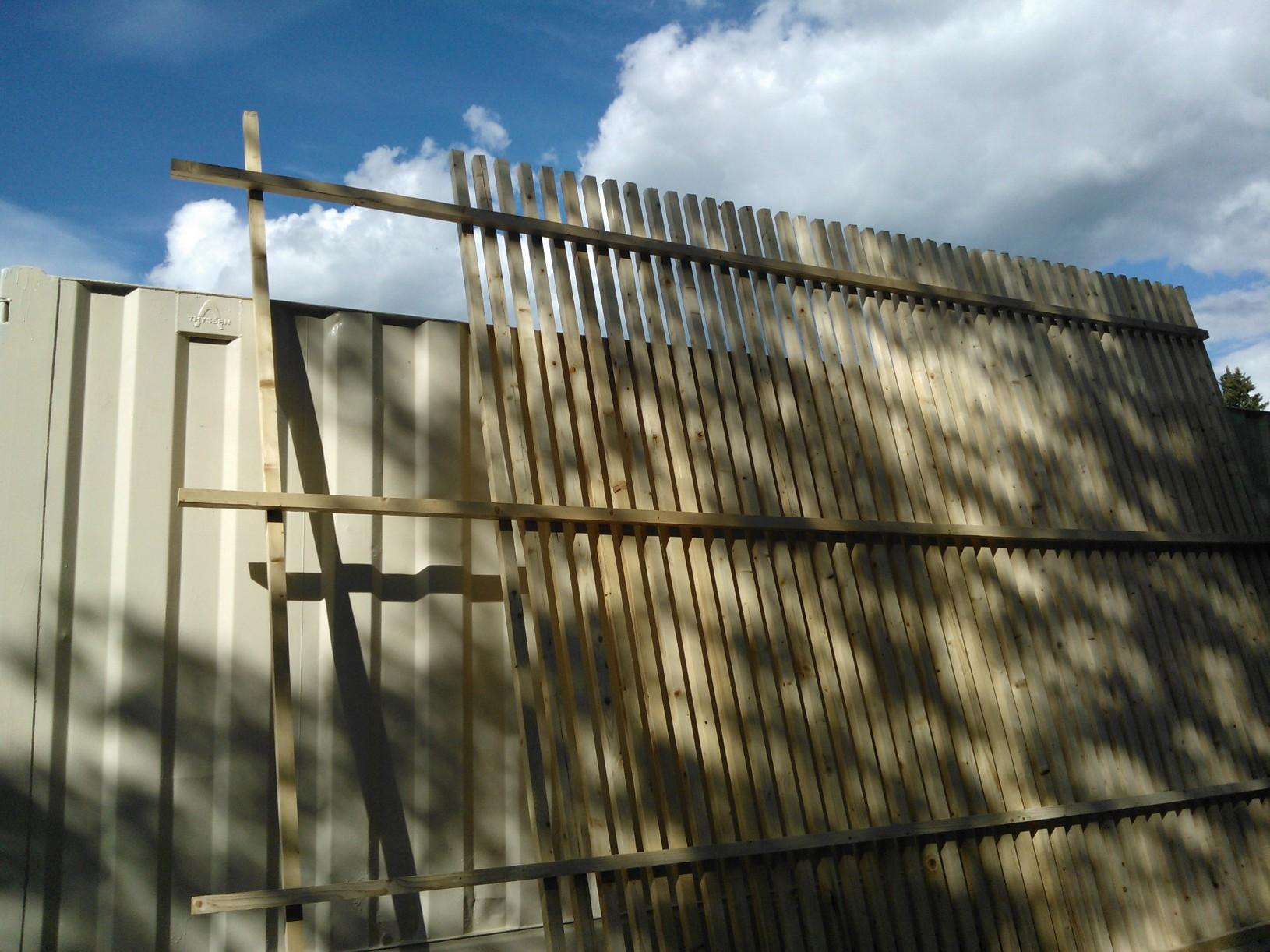 Rakennushommat edistyvät talkoissa