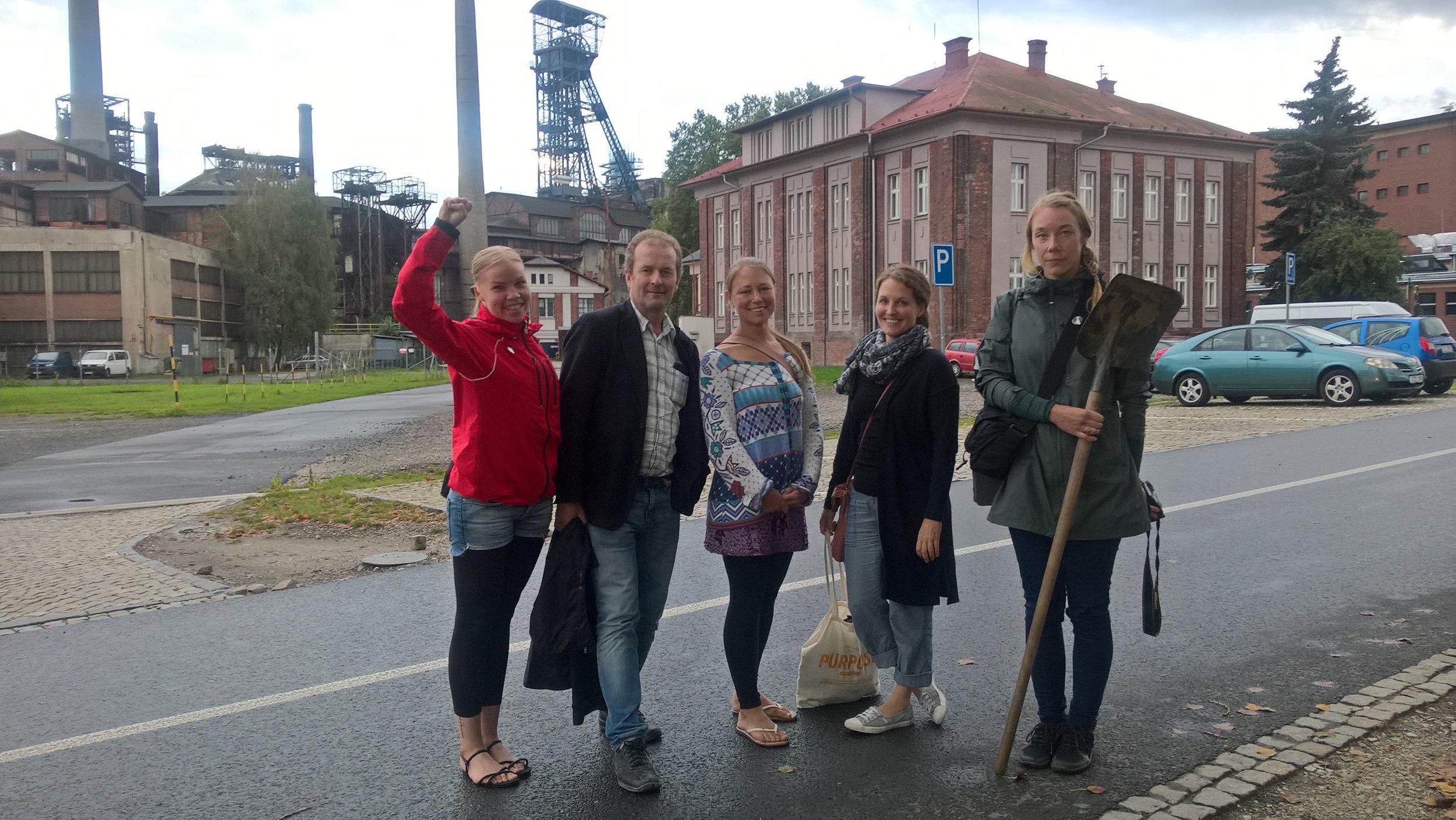 Suomen delegaatio Ostravassa