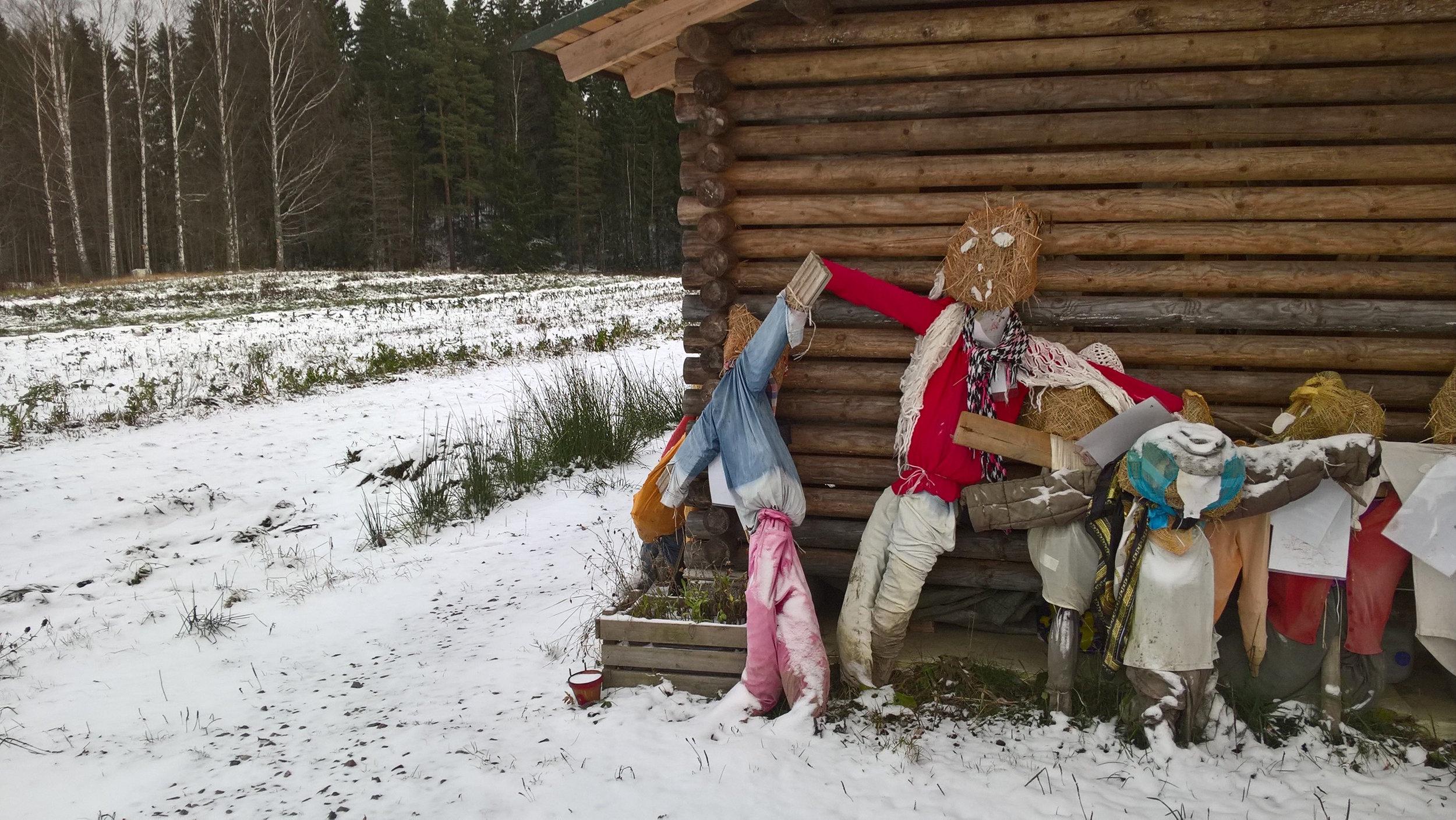 Luminen pelto & pelättimet