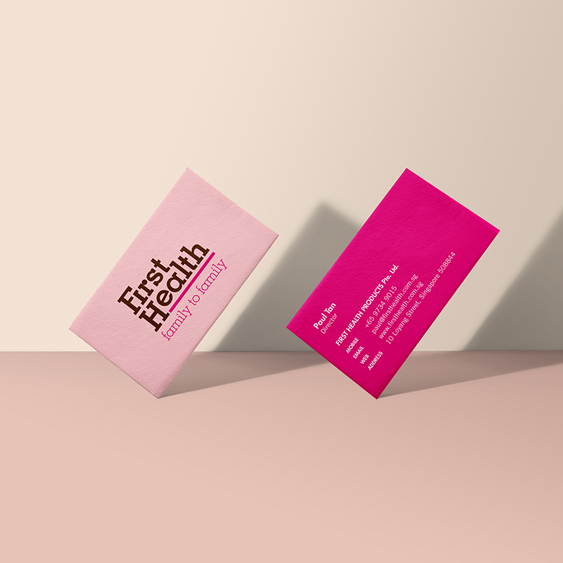 STUDIO DAM - Branding and Product Design — First Health