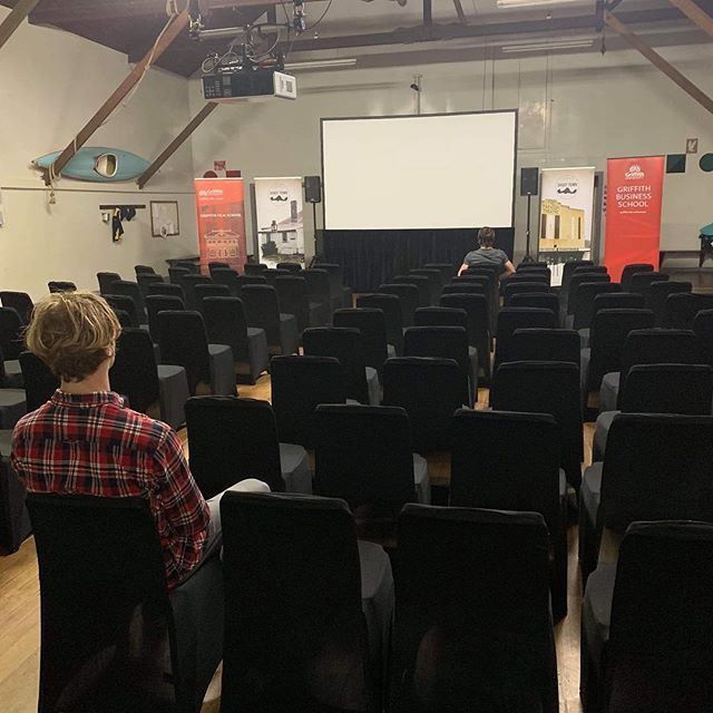 The stage is set! Come along to our Premiere tonight at 8pm! Tickets $5 at the door (15 Bowes Street, Queenstown, Tasmania)