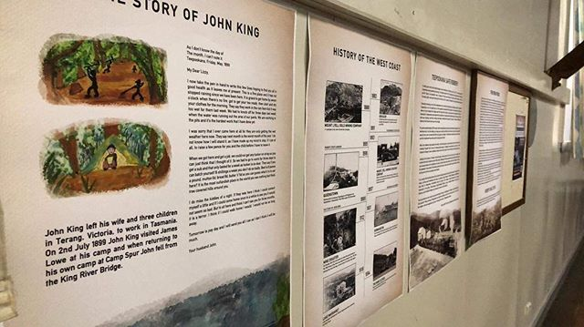 In addition to showcasing our series we have installed a mini exhibition with extra content on Tasmanian West Coast history! Exhibition open from 4pm Friday and Saturday (19/20 Oct)