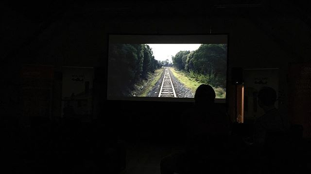 "Final screening checks complete and we are ready to open ""A Diary of Lost Memories"" to the public for the very first time! We hope to see you this weekend @theunconformity"