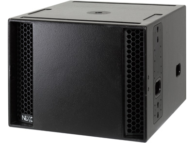 NEXO LS18 - The Nexo LS18 is a high-power, high-output subwoofer with an 18-inch bass driver.