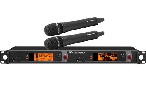 Sennheiser 2000 Series - 2000 Series Dual Wireless Microphone Receiver