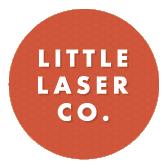 Little Laser Co. Logo Orange