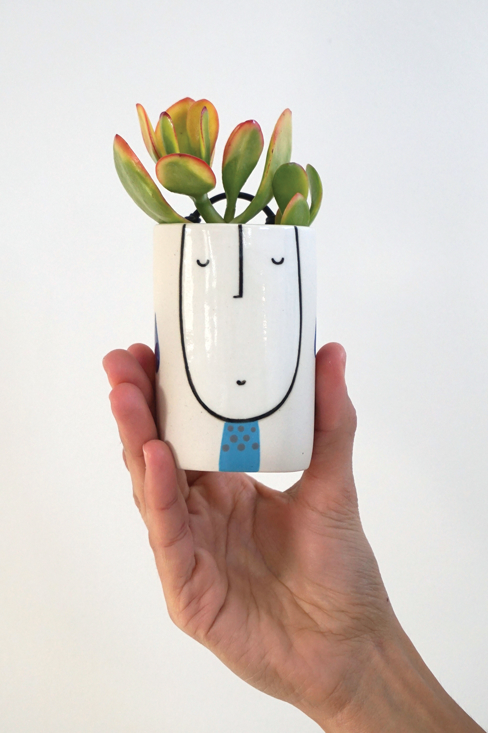 Little wall planter guy $45