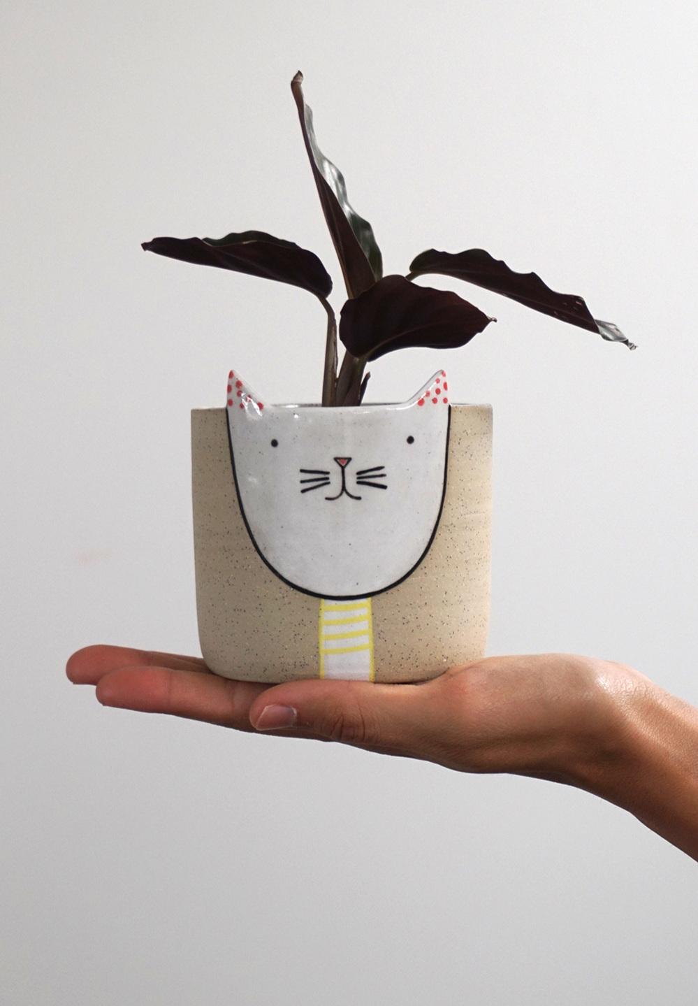 Kitty Planter $80