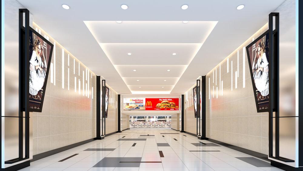 CORRDIOR TO FOODCOURT Muscat Grand Mall