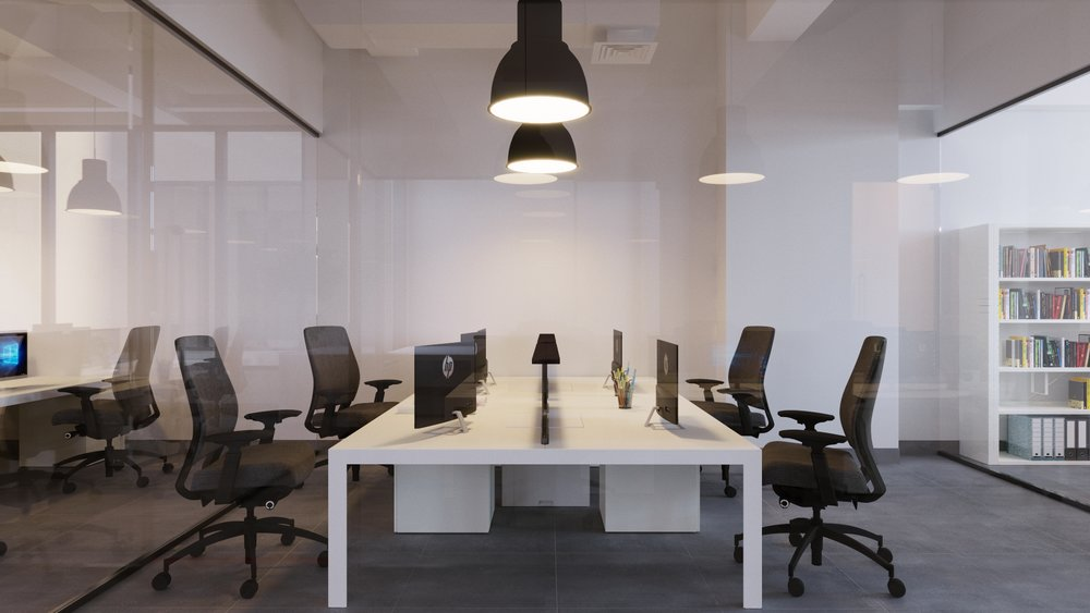 pioneer office -2   OMR 299/month   Enclosed, lockable office can accommodate teams of 1-4. Move-in ready, with desks, chairs, a and filing cabinet.  Best for:  -Startups, small teams and satellite companies