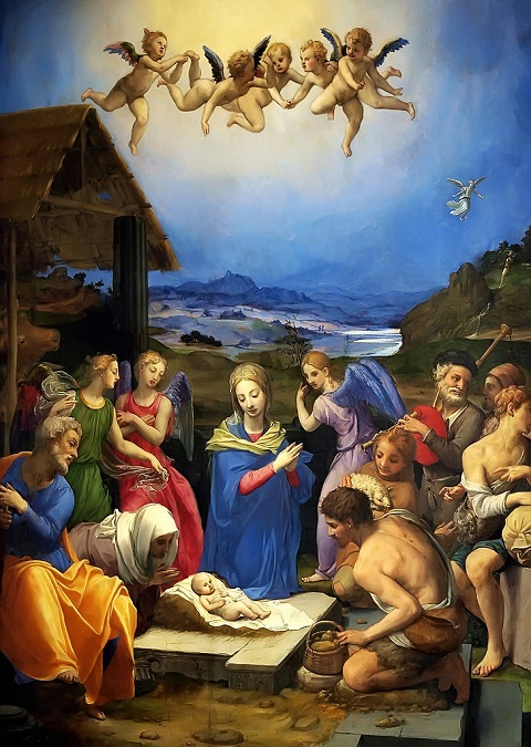 The Adoration of the ShepherdsAgnolo Bronzino, c. 1535