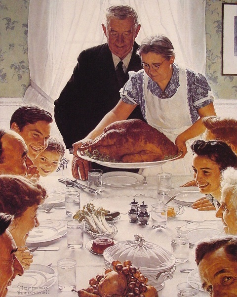 Rockwell's Thanksgiving Day Dinner