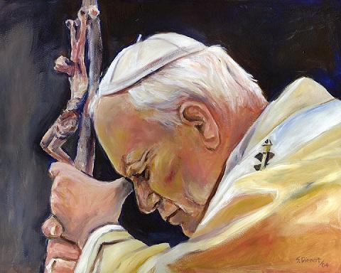 pope-john-paul-ii-sheila-diemert