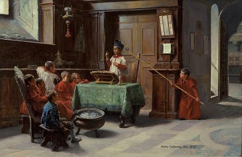 francesco_bergamini_b1837_the_altar_boys_sermon_wm