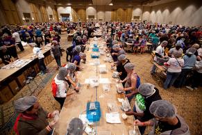 Million Meal Challenge Orlando event. 2012.