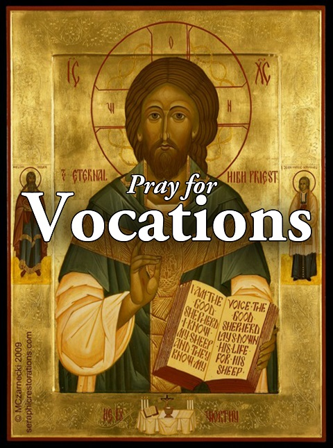 2011 Vocation Prayer Card