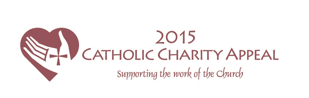 2015 Catholic Charity Appeal Logo - Red